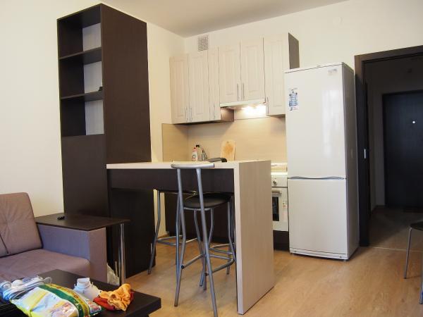 2017.04.17 Кухня в квартиру студию венге